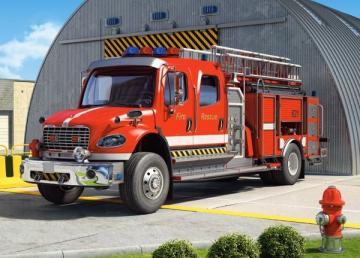 Fire Engine,Puzzle 120 Teile · CAS 12831 ·  Castorland