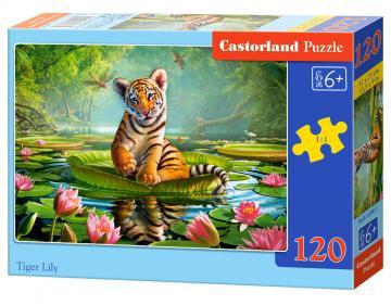 Tiger Lily, Puzzle - 120 Teile · CAS 132961 ·  Castorland