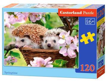Springtime - Puzzle - 120 Teile · CAS 133191 ·  Castorland