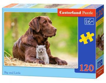 Big and Little - Puzzle - 120 Teile · CAS 133261 ·  Castorland