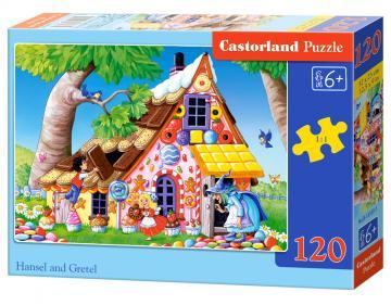 Hansel and Gretel - Puzzle - 120 Teile · CAS 133331 ·  Castorland