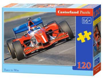 Race to Win - Puzzle - 120 Teile · CAS 133641 ·  Castorland