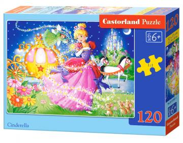 Cinderella - Puzzle - 120 Teile · CAS 133951 ·  Castorland