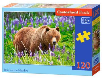 Bear an the Meadow - Puzzle - 120 Teile · CAS 134251 ·  Castorland