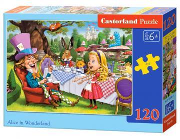 Alice in Wonderland - Puzzle - 120 Teile · CAS 134561 ·  Castorland