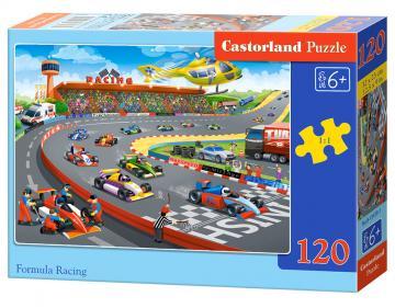 Formula Racing - Puzzle - 120 Teile · CAS 134701 ·  Castorland