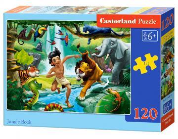 Jungle Book - Puzzle - 120 Teile · CAS 134871 ·  Castorland