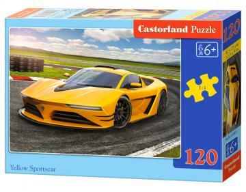 Yellow Sportscar - Puzzle - 120 Teile · CAS 135001 ·  Castorland