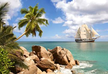 Sailing in Paradise,Puzzle 1500 Teile · CAS 1505262 ·  Castorland