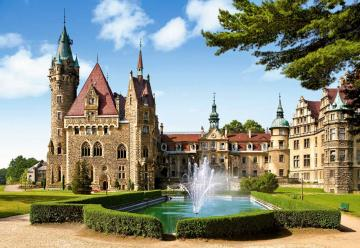 Moszna Castle, Poland,Puzzle 1500 Teile · CAS 1506702 ·  Castorland