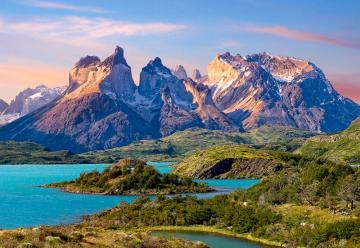 Torres del Paine,Patagonia,Chile - Puzzle - 1500 Teile · CAS 1509532 ·  Castorland