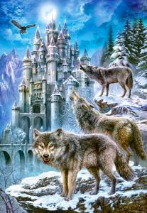 Wolves and Castle,Puzzle 1500 Teile · CAS 1511412 ·  Castorland