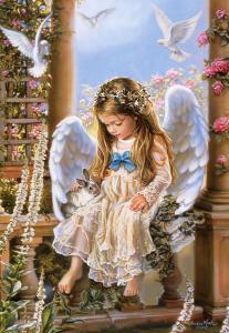 Tender Love,Sandra Kuck,Puzzle 1500 Teil · CAS 1511652 ·  Castorland