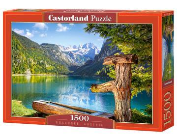 Gosausee, Austria, Puzzle 1500 Teile · CAS 1513322 ·  Castorland