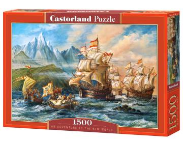 An Adventure to the New World, Puzzle1500 · CAS 1513492 ·  Castorland