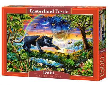 Panther Twilight, Puzzle 1500 Teile · CAS 1513562 ·  Castorland