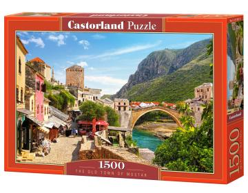 The Old Town of Mostar,Puzzle 1500 Teile · CAS 1513872 ·  Castorland