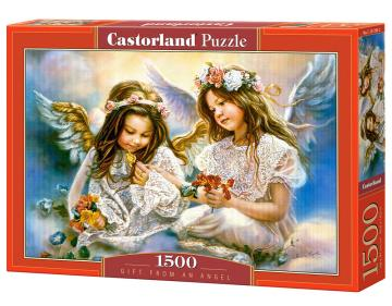 Gift from an Angel,Puzzle 1500 Teile · CAS 1513942 ·  Castorland