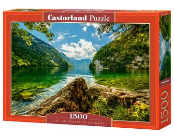 Lake Koenigsee in Germany, Puzzle - 1500 Teile · CAS 1514172 ·  Castorland