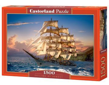 Sailing at Sunset - Puzzle - 1500 Teile · CAS 1514312 ·  Castorland