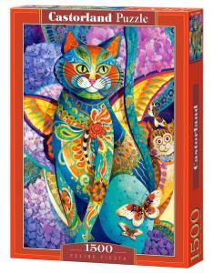 Feline Fiesta - Puzzle - - 1500 Teile · CAS 1514482 ·  Castorland