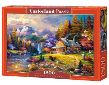 Mountain Hideaway - Puzzle - 1500 Teile · CAS 1514622 ·  Castorland