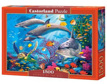 Secrets of the Reef - Puzzle - 1500 Teile · CAS 1514862 ·  Castorland