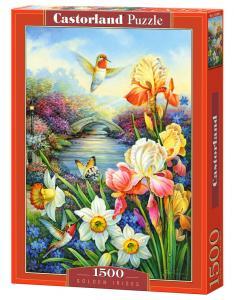 Golden Irises - Puzzle - 1500 Teile · CAS 1515092 ·  Castorland
