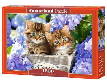 Cute Kittens - Puzzle - 1500 Teile · CAS 1515612 ·  Castorland