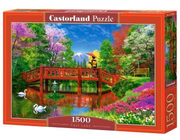 Fuji Lake - Puzzle - 1500 Teile · CAS 151608 ·  Castorland