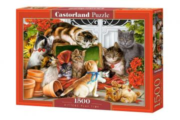 Kittens Play Time - Puzzle - 1500 Teile · CAS 1516392 ·  Castorland