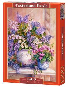 Lilac Flowers - Puzzle - 1500 Teile · CAS 1516532 ·  Castorland