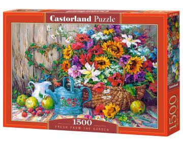 Fresh from the Garden - Puzzle - 1500 Teile · CAS 1516842 ·  Castorland