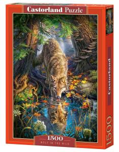 Wolf in the Wild - Puzzle - 1500 Teile · CAS 1517072 ·  Castorland
