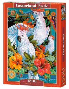 Tropical Trio - Puzzle - 1500 Teile · CAS 1517142 ·  Castorland