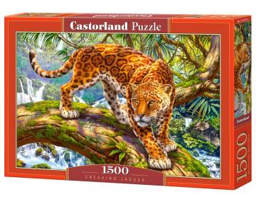 Sneaking Jaguar - Puzzle - 1500 Teile · CAS 1517522 ·  Castorland