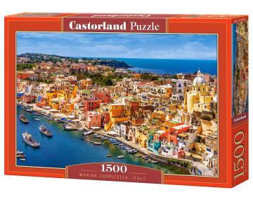 Marina Corricella,Italy - Puzzle - 1500 Teile · CAS 1517692 ·  Castorland