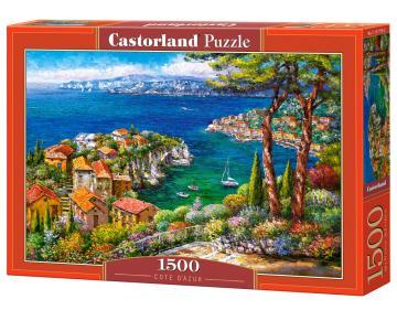Cote d´Azur - Puzzle - 1500 Teile · CAS 1517762 ·  Castorland