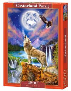 Wolf´s Night - Puzzle - 1500 Teile · CAS 1518062 ·  Castorland