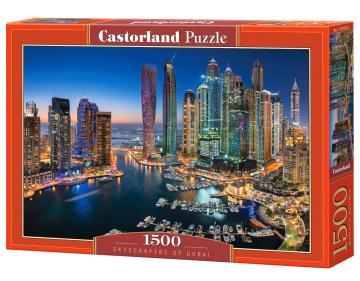 Skyscrapers of Dubai - Puzzle - 1500 Teile · CAS 1518132 ·  Castorland