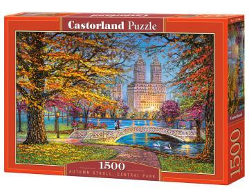 Autumn Stroll, Central Park - Puzzle - 1500 Teile · CAS 1518442 ·  Castorland