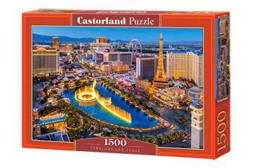 Fabulous Las Vegas - Puzzle - 1500 Teile · CAS 1518822 ·  Castorland