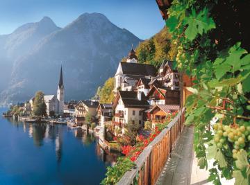 Hallstatt, Austria,Puzzle 2000 Teile · CAS 2001222 ·  Castorland