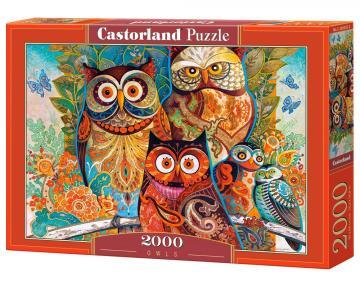 Owls - Puzzle - 2000 Teile · CAS 2005352 ·  Castorland