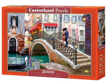 Venice Bridge - Puzzle - 2000 Teile · CAS 2005592 ·  Castorland