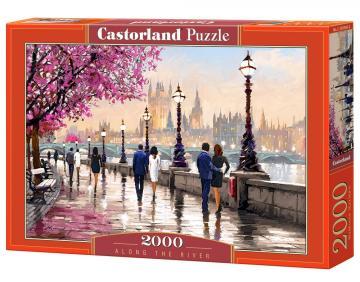 Along the River - Puzzle - 2000 Teile · CAS 2005662 ·  Castorland