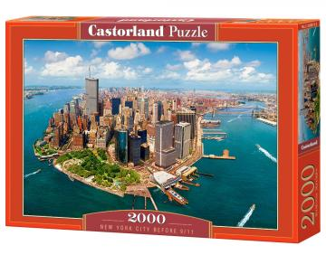 New York City before 9/11,Puzzle 2000 Teile · CAS 200573 ·  Castorland