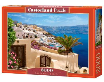 Santorini, Greece - Puzzle - 2000 Teile · CAS 2006722 ·  Castorland
