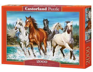 Call of Nature - Puzzle - 2000 Teile · CAS 2007022 ·  Castorland
