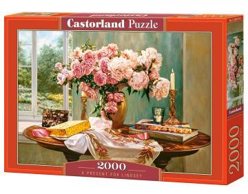 A Present for Lindsey - Puzzle - 2000 Teile · CAS 2007192 ·  Castorland